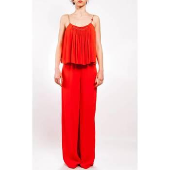 Abbigliamento Donna Tuta Liu Jo I17537T1883-ROSSO Tuta Donna Rosso Rosso