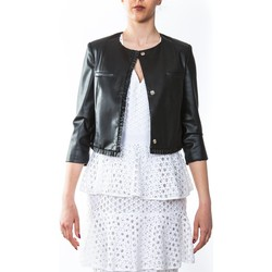 Abbigliamento Donna Giacche / Blazer Liu Jo I18165E0225-2222 Giacca Donna Donna Nero Nero