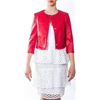 Abbigliamento Donna Giacche / Blazer Liu Jo I18165E0225-91762 Giacca Donna Donna Rosso Rosso
