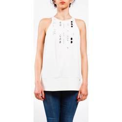 Abbigliamento Donna Top / Blusa Liu Jo P17053T9205-10701 Top Donna Bianco Bianco