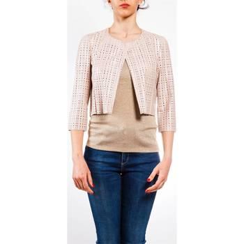 Abbigliamento Donna Giacche / Blazer Liu Jo P17253E0378-43803 Giacca Donna Donna Cipria Cipria