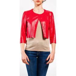 Abbigliamento Donna Giacche / Blazer Liu Jo P17253E0378-81760 Giacca Donna Donna Rosso Rosso