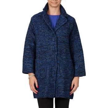Abbigliamento Donna Cappotti Liu Jo P65191MA06B-Z9693 Cappotto Donna Donna Blu Blu