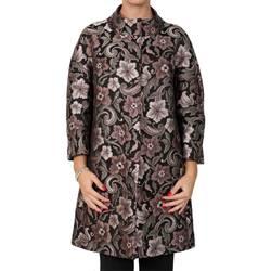 Abbigliamento Donna Cappotti D Errico 742003-6017-26 Soprabito Donna Nero-rosa Nero-rosa