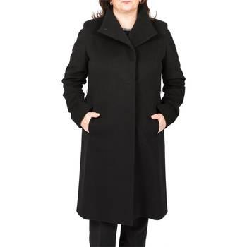 Abbigliamento Donna Cappotti Cinzia Rocca M231-A01-45G6-NERO Cappotto Donna Donna Nero Nero