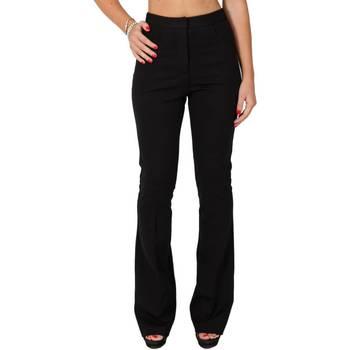 Abbigliamento Donna Pantaloni morbidi / Pantaloni alla zuava Twin Set PA521Q-06 Pantalone Donna Donna Nero Nero