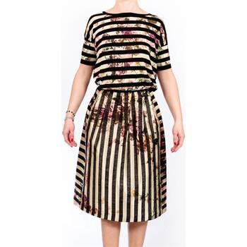 Abbigliamento Donna Maglioni Twin Set PS63FN-100 Maglia Donna Donna Nero-panna Nero-panna