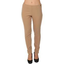 Abbigliamento Donna Pantaloni morbidi / Pantaloni alla zuava Twin Set T2A4WC-490 Pantalone Donna Donna Beige Beige