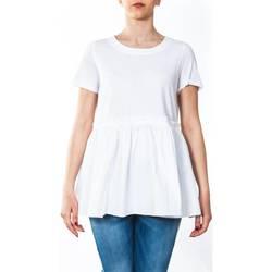 Abbigliamento Donna T-shirt maniche corte Twin Set TS821J-0001 T-shirt Donna Donna Bianco Bianco