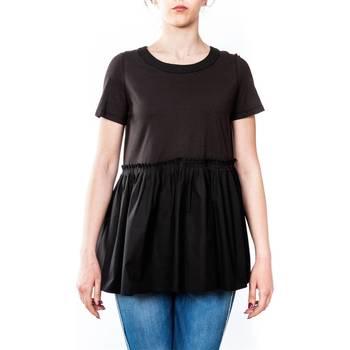 Abbigliamento Donna T-shirt maniche corte Twin Set TS821J-NERO T-shirt Donna Donna Nero Nero