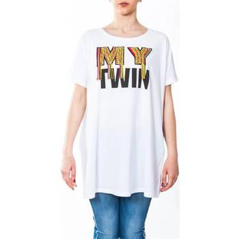 Abbigliamento Donna T-shirt maniche corte Twin Set YS825G-0001 T-shirt Donna Donna Bianco Bianco