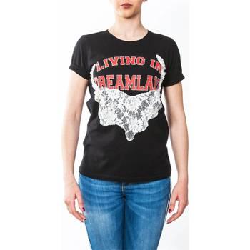 Abbigliamento Donna T-shirt maniche corte Twin Set YS82D2-06 T-shirt Donna Donna Nero Nero