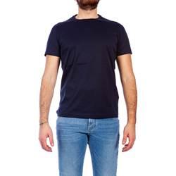 Abbigliamento Uomo T-shirt maniche corte Alessandro Dell'acqua AD0960/T1732 50 BLU Blu