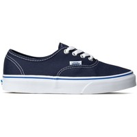 Scarpe Donna Sneakers basse Vans Authentic Bianco, Blu marino