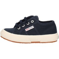 Scarpe Unisex bambino Sneakers alte Superga 2750S0003C0 Blu