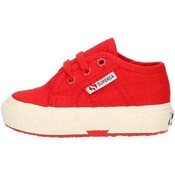 Scarpe Unisex bambino Sneakers basse Superga 2750S0005P0 Rosso