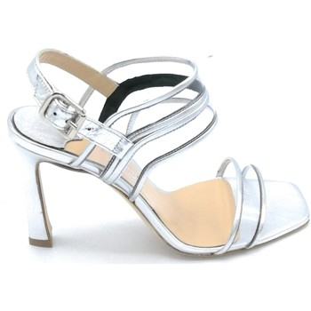Scarpe Donna Sandali The Seller S8452 Argento