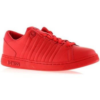 Scarpe Donna Sneakers basse K-Swiss Lozan Iii Monochrome Rosso