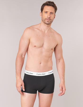 Calvin Klein Jeans COTTON STRECH LOW RISE TRUNK X 3
