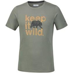 Abbigliamento Uomo T-shirt maniche corte Columbia Miller Valley Olivina