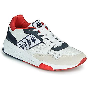 Scarpe Uomo Sneakers basse Kappa LUXOR 2 Bianco / Rosso