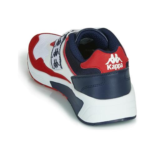9900 2 Scarpe Kappa Uomo Gratuita BiancoRosso Consegna Sneakers Basse Barsel ohstrxBdCQ