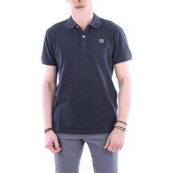 Abbigliamento Uomo Polo maniche corte Ciesse Piumini 195CPMT20148-C2410X Blu