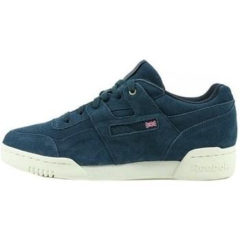 Scarpe Uomo Sneakers basse Reebok Sport Workout Plus Mcc Bianco, Blu marino
