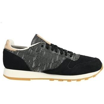 Scarpe Uomo Sneakers basse Reebok Sport Classic Leather Ebk Nero, Grigio