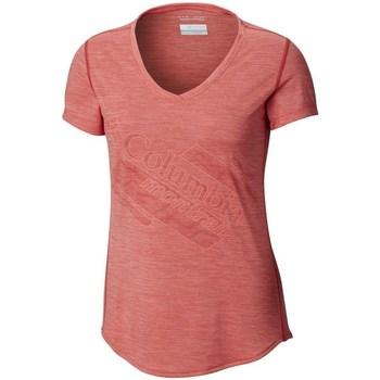 Abbigliamento Donna T-shirt maniche corte Columbia Trinity Trail 20 Rosa