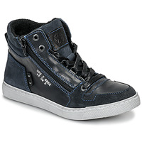 Scarpe Bambino Sneakers alte Bullboxer AGM531E6L-NGBLK Marine