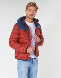 Abbigliamento Uomo Piumini Napapijri ARIC Rosso