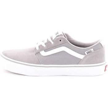 Scarpe Unisex bambino Sneakers basse Vans VA38J2R7X-YT-CHAPMAN-STRIPE-JR Grigio-bianco