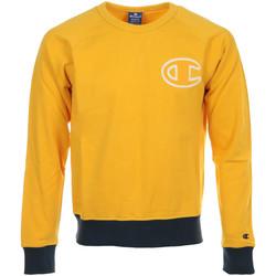 Abbigliamento Uomo Felpe Champion Crewneck Sweatshirt Giallo