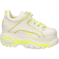 Scarpe Donna Sneakers basse Buffalo 1339-14 LEATHER white-yellow