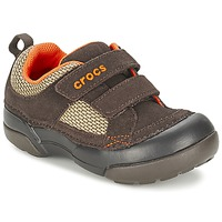 Scarpe Bambino Sneakers basse Crocs DAWSON HOOK & LOOP Marrone
