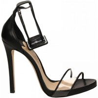 Scarpe Donna Sandali The Seller NAPPA nero