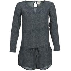 Abbigliamento Donna Tuta jumpsuit / Salopette Petite Mendigote LOUISON Nero / Grigio