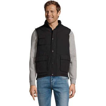 Abbigliamento Gilet / Cardigan Sols WELLS POLAR WORK Negro