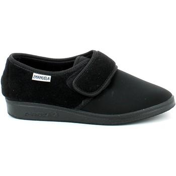 Scarpe Uomo Pantofole Emanuela 985.01_40 NERO