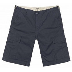 Abbigliamento Uomo Shorts / Bermuda Carhartt Pantaloncini Aviation Short - Dark Navy Rinsed Blu