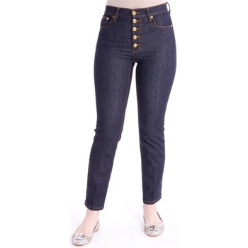 Abbigliamento Donna Jeans Tory Burch BUTTON-FLY DENIM PANT Blue