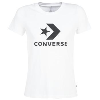 Abbigliamento Donna T-shirt maniche corte Converse STAR CHEVRON Bianco