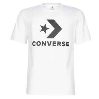 Abbigliamento Uomo T-shirt maniche corte Converse STAR CHEVRON Bianco