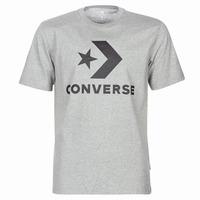 Abbigliamento Uomo T-shirt maniche corte Converse STAR CHEVRON Grigio