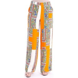 Abbigliamento Donna Pantaloni Tory Burch PANTALONI CARGO IN SETA Orange
