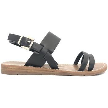 Scarpe Donna Sandali Chattawak sandales 7-RUBIS Noir Nero
