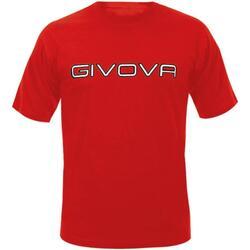 Abbigliamento Uomo T-shirt maniche corte Givova ma008 Maniche Corte Uomo Rosso Rosso