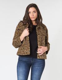Abbigliamento Donna Giubbotti See U Soon 9262153 Leopard