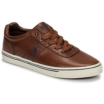 Scarpe Uomo Sneakers basse Polo Ralph Lauren HANFORD Cognac
